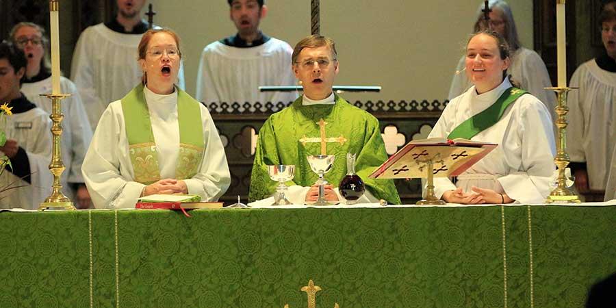 Clergy 2020 altar