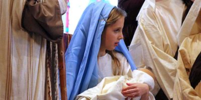Holy Eucharist and Christmas Pageant