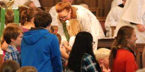 Margaret with Children