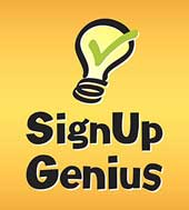 Sign Up Genius Menu