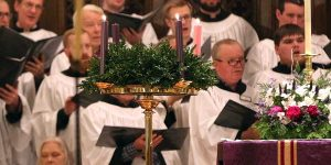 Choir, Wreath, Candles
