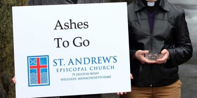Ashes to Go Sign
