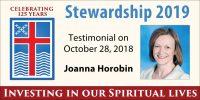 Stewardship 2019, Joanna Horobin