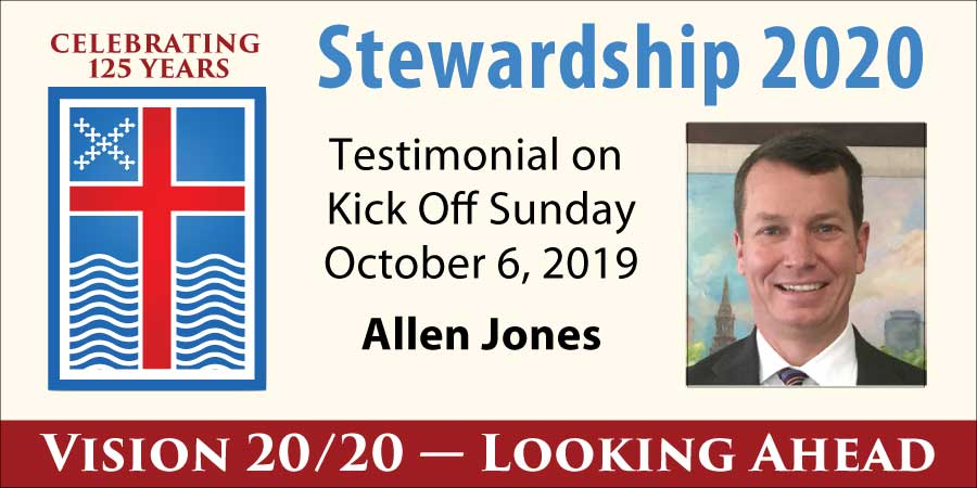 Stewardship Testimonial