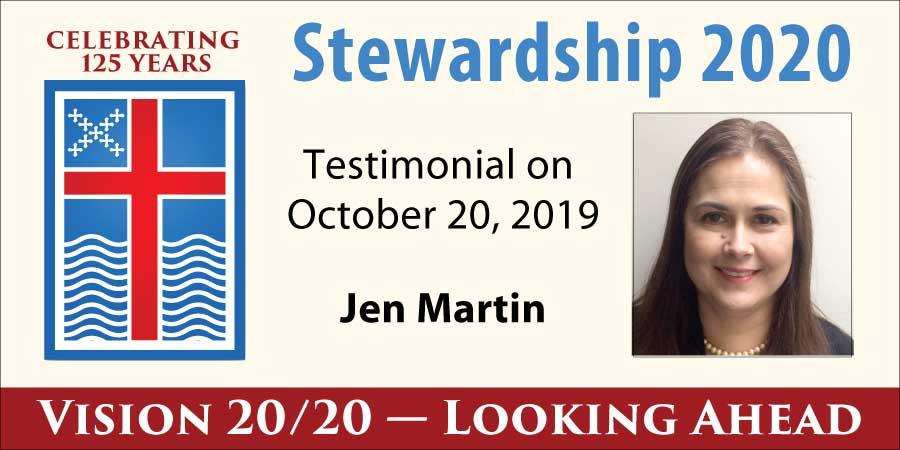 Jen Martin Stewardship Testimony