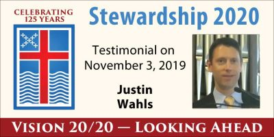 Justin Wahls Stewardship 2020 Testimony